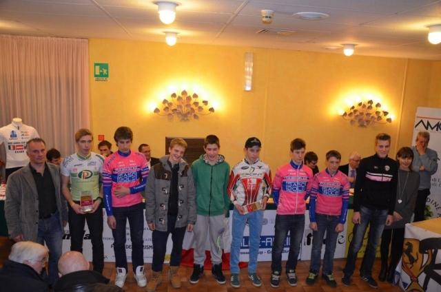 Alpe Adria: Podelili nagrade najboljšim mladim kolesarjem