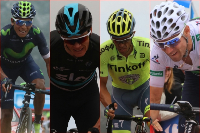 Quintana, Valverde, Contador: Proti merilcem moči na dirkah