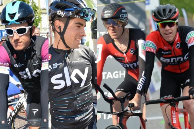 Giro: Sky z dvema kapetanoma in brez sprinterja
