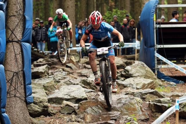 Začetek svetovnega pokala na Češkem za gorske kolesarje