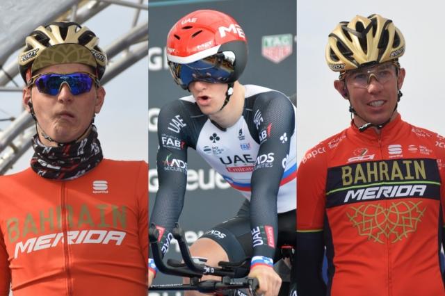 Giro: Dve ekipi potrjeni ... in trije Slovenci?