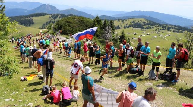 Chevrier in Mathysova na Veliki planini do evropske krone