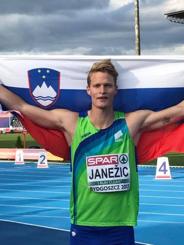 Janežič evropski prvak med mlajšimi člani