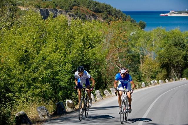 V Istri začetek kolesarskih maratonov.