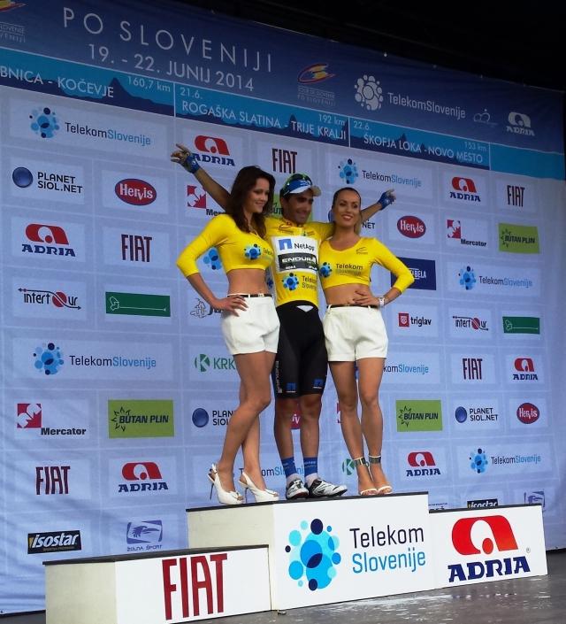 Francesco Manuel Bongiorno je zmagovalec kraljevske etape na dirki Po Sloveniji