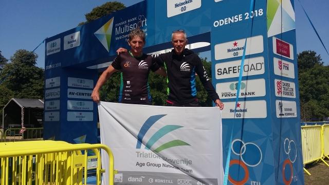 Miro Kregar osvojil srebrno medaljo na ITU svetovnem prvenstvu v dolgem triatlonu