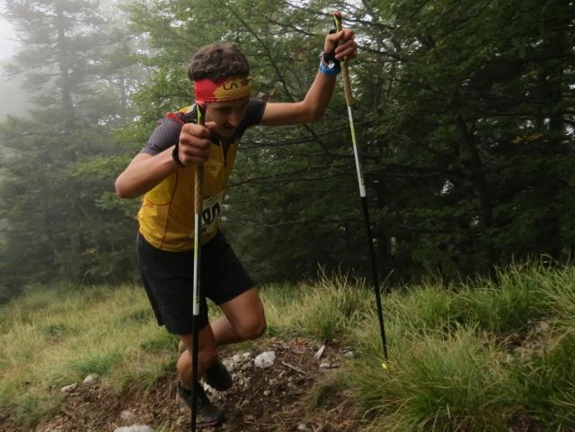 Na 6. Storžič vertikal kilometru slavil Luka Kovačič