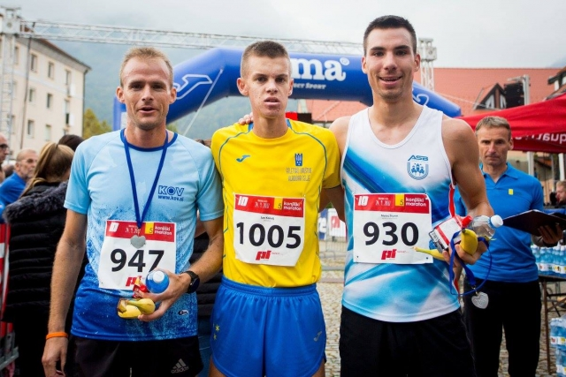 Jan Kokalj in Klara Ljubi državna prvaka v cestnem teku na 10 km