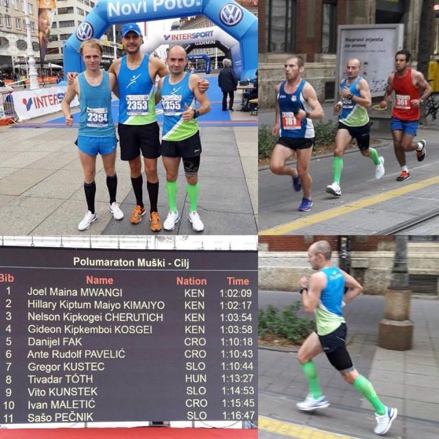 Zagrebški maraton prvič pod magično mejo