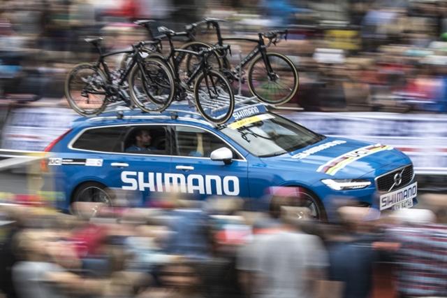 Shimano na največjih dirkah naših sosedov