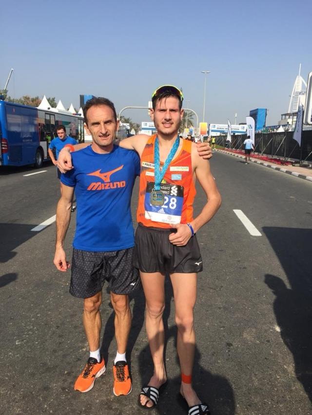 Domen Hafner v Dubaju do osebnega rekorda