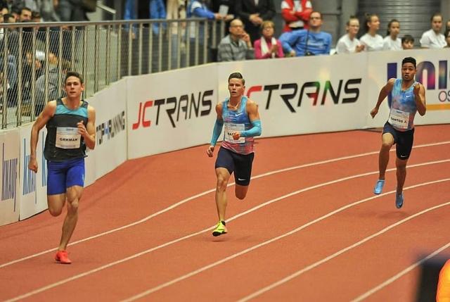 Grkman izboljšal mladinski rekord Luke Janežiča