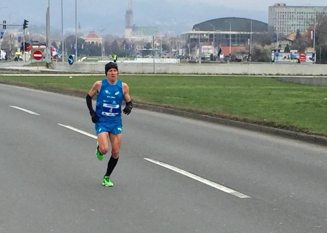 Kobe zmagal na polmaratonu v Zagrebu