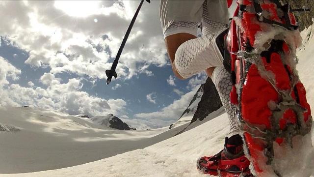 Gorsko tekaško prečenje znamenite Haute Route (foto in video zgodba)