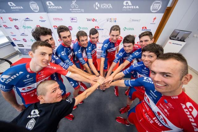 Prepričani v nove uspehe - Adria Mobil tudi uradno v sezono 2018