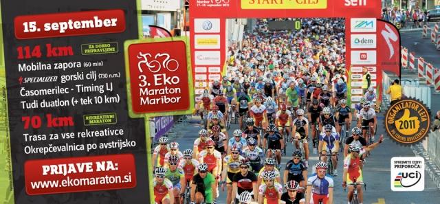 Bliža se 3. Eko Maraton Maribor
