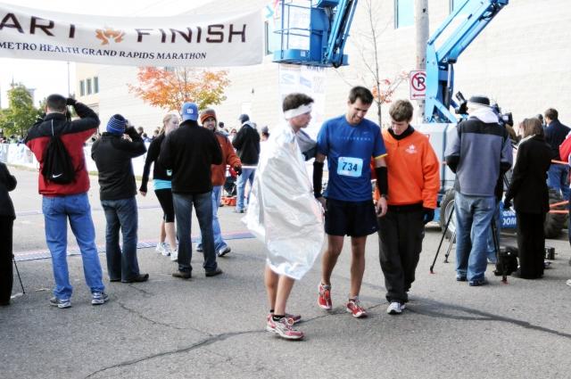 Muke, ki jih vaše telo prestaja med maratonom