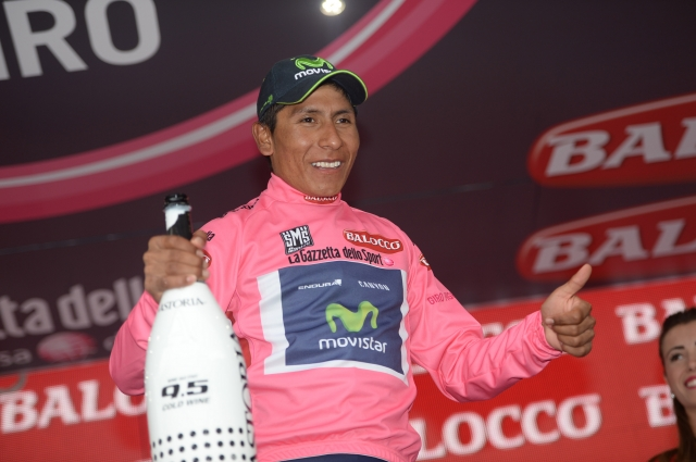 Giro: Nairo Quintana in osem izkušenih pomočnikov