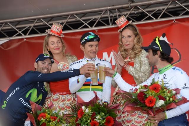 Štirje Slovenci na 'pivski' klasiki