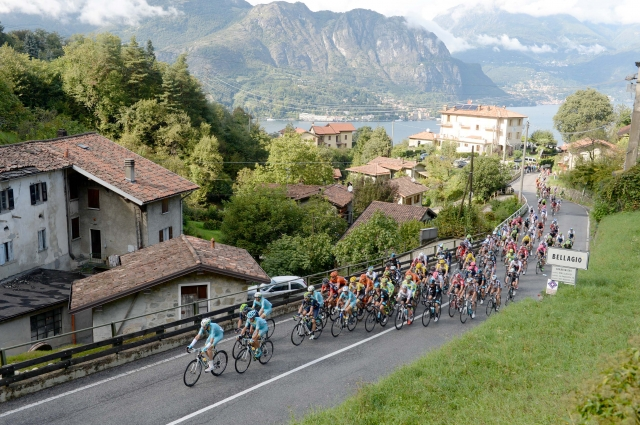 Lombardija: V zadnjih 115 km kar 48 km vzponov