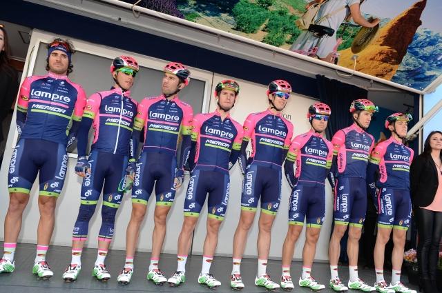 Cyclingnews: Lampre Merida, Contador, Bahrajn in Milan Eržen