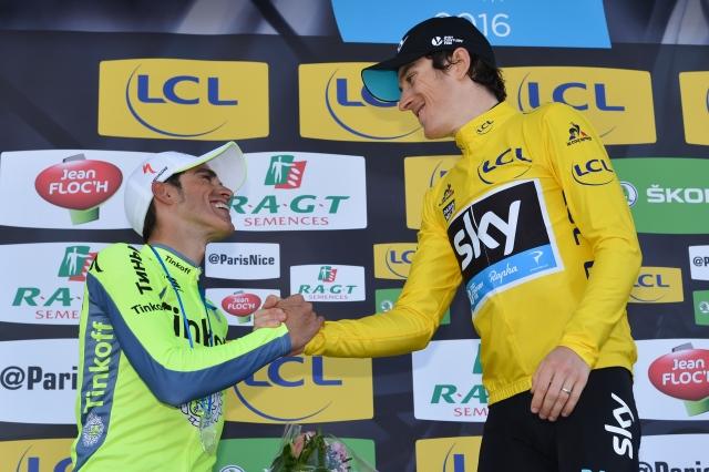 Alberto Contador poskrbel za spektakel. Geraint Thomas pa se je vrnil in zdržal