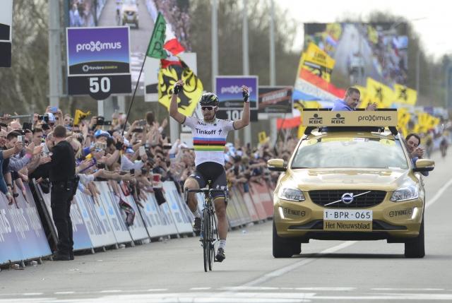 Flandrijski spektakel Petru Saganu!