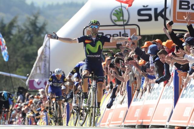 Alejandro Valverde novi rekorder Valonske puščice (FOTO in VIDEO)