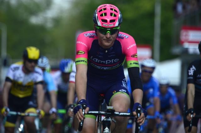 Matej Mohorič dan pred koncem padel pred sprintom