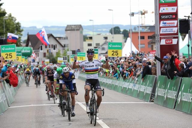 Peter Sagan do rekordne zmage v Švici
