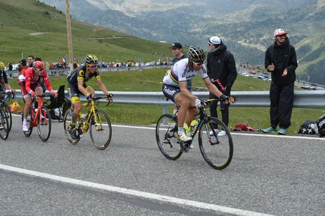 Peter Sagan že blesti v Kanadi, Matej Mohorič bežal