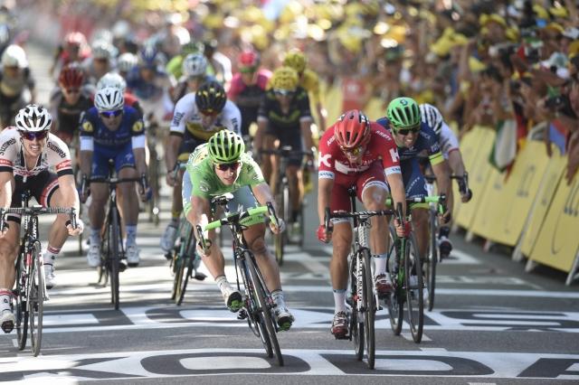 Spet sprint, spet fotofiniš in spet Peter Sagan