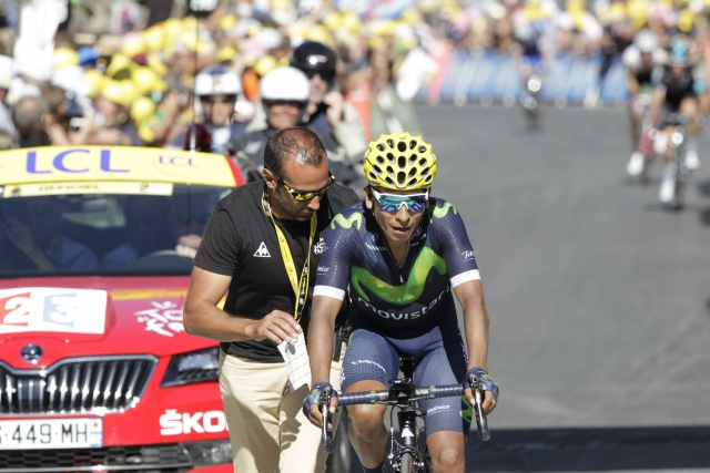 Nairo Quintana: Dobro se počutim, imel sem le slab dan