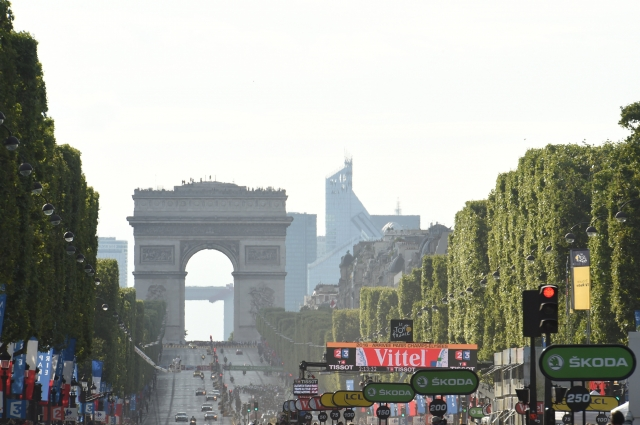 Prek twitterja za najbolj borbenega kolesarja