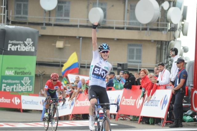 Froome dobil etapo, Quintana tik za njim