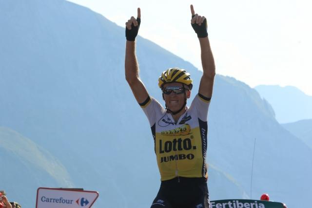 Robert Gesink do zmage ... izjemen dvoboj Quintana/Froome