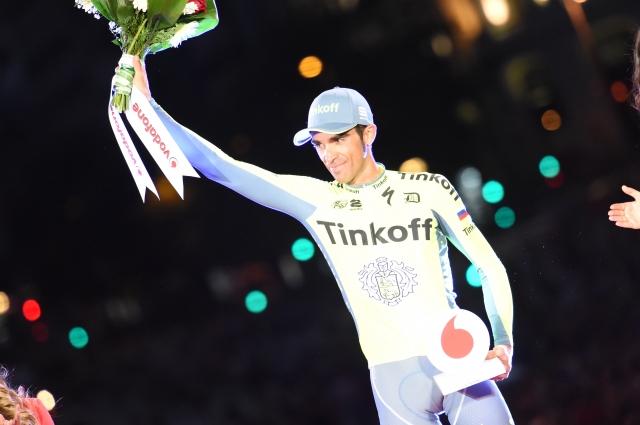 Alberto Contador podpisal ... tudi uradno spet na Treku