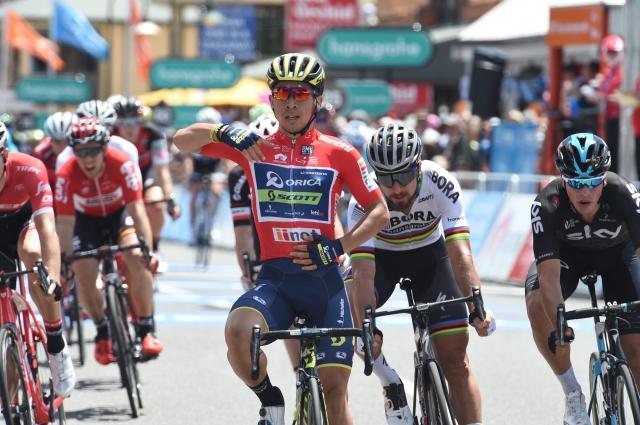Caleb Ewan premagal Petra Sagana