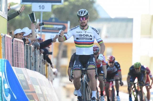 Luka Mezgec peti ob šovu Petra Sagana
