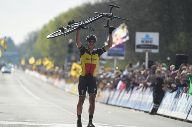 Philippe Gilbert dobil flandrijsko klasiko