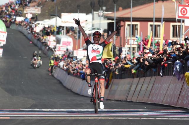 Številke prihajajoče dirke po Italiji