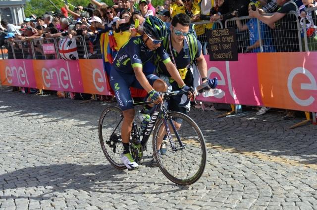 Nairo Quintana: Poskušal bom do konca Gira