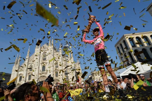 Številke dirke po Italiji