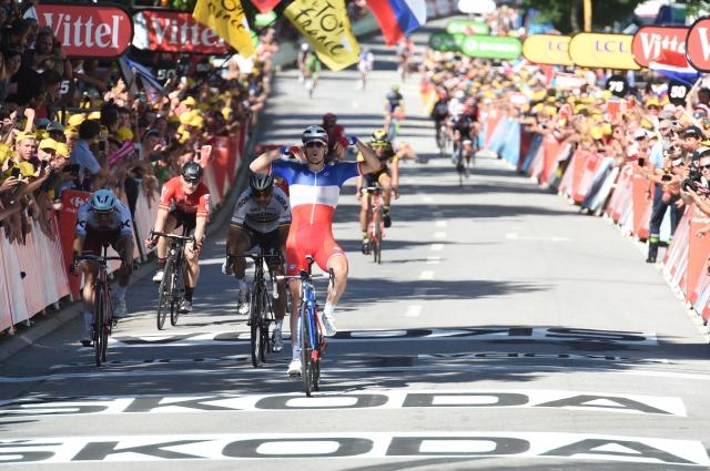 Peter Sagan izključen z dirke, podrl Cavendisha