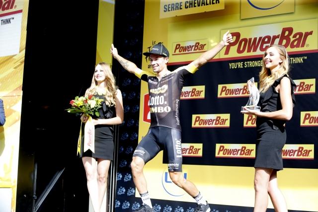 Primož Roglič dobil etapo na Dirki po Franciji