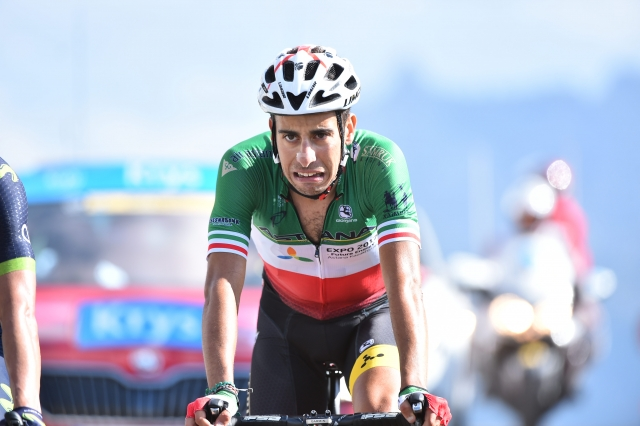Fabio Aru izgublja boj s tekmeci in bronhitisom
