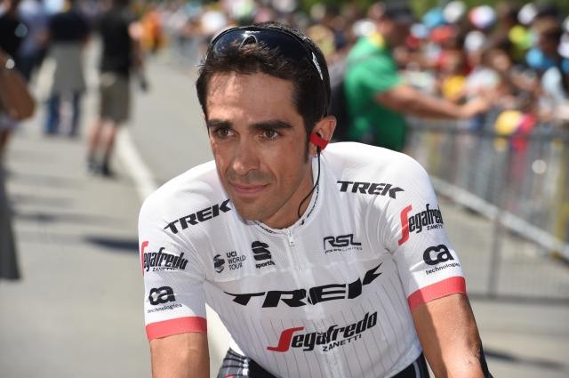 Alberto Contador bo končal s številko ena