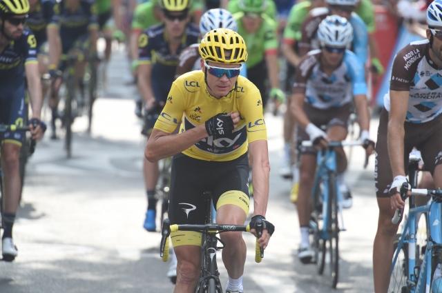 Chris Froome: Za etapno zmago Roglič in Martin!