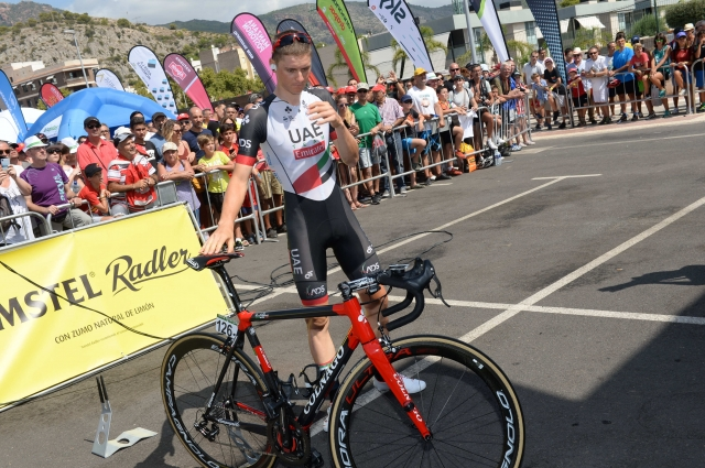 Vuelta: Matej Mohorič po dolgem pobegu 4.