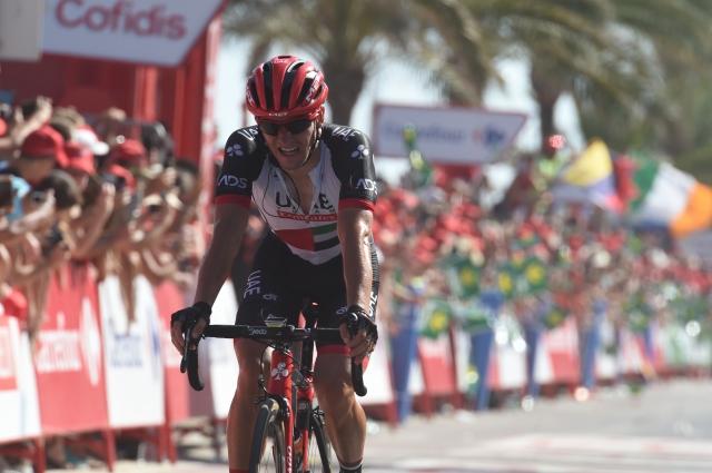 Jan Polanc bežal do petega mesta, Contador spet napadal